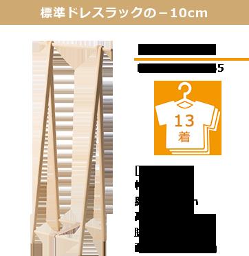 Dress rack 65 ・ 65cm ・ 65cm wide ・ Compact
