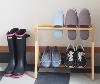 Slippers & Shoe Racks, Slipper Racks, Front Door Storage, Front Door, Solid Wood, Shoe Rest, Slim, Simple, Scandinavian, Waterproof