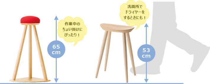Kitchen stool with red hat high stool high stool dryer lavatory work chair for work cooking kitchen cute kid fashionable