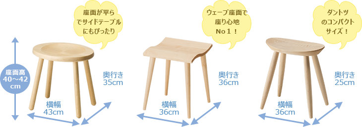 Beans stool Mines stool Entrance stool For work Rest stool Sit comfort Long time Curve Cute Cute Kolon Compact Slim Easy to sit stability Calm solid wood Nordic