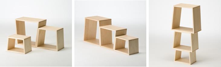 Nest stool Multi-use Multi-use Multi-task Heavy-duty Layout Freely stacking Side by side