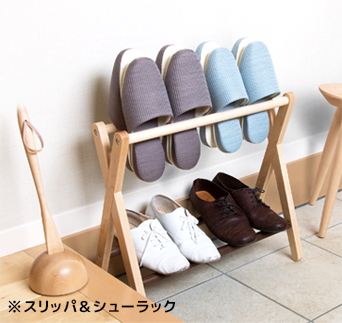 Slippers & shoe racks, slipper racks, shoe racks, slipper holders, entrance storage, convenience, small furniture, Scandinavian, living alone, fashionable, living with two people, waterproofing