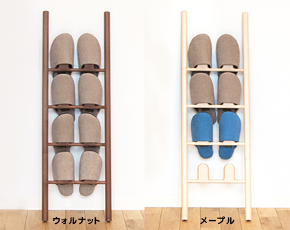 Slipper rack, solid wood, simple, leaning, slipper holder, entrance storage, Scandinavian, fashionable,