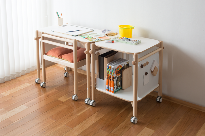coitti shelf, coitti wagon, coitti desk, coitti series, good design award, coitti chair, hobby, workbench, work desk