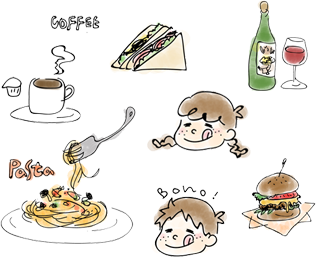 Feeling like a cafe at home! Would you like to enjoy a delicious lunch or dinner and have a good time?