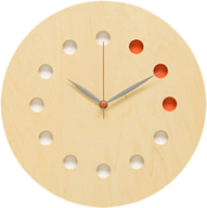 Clock (Color) [Maple]