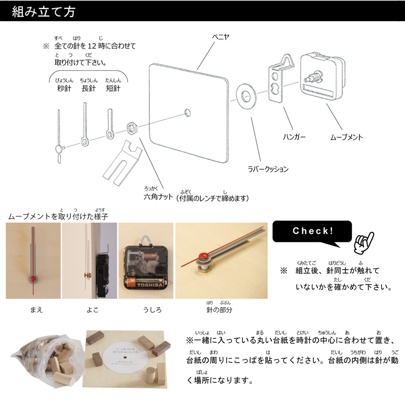 Koppappa Watch Kit Instructions