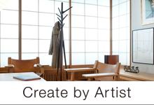 create by artist