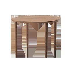 Dunlan Table 95 Walnut