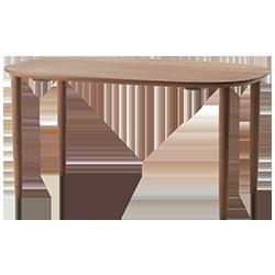 Dunlan Table 140 Walnut