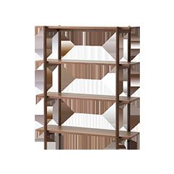 Living shelf 120 Walnut