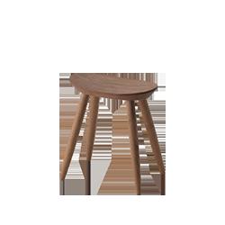 Entrance stool Walnut