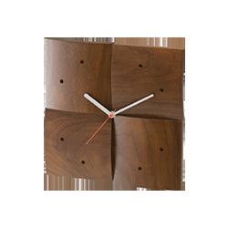 Wall Clock (R) Walnut